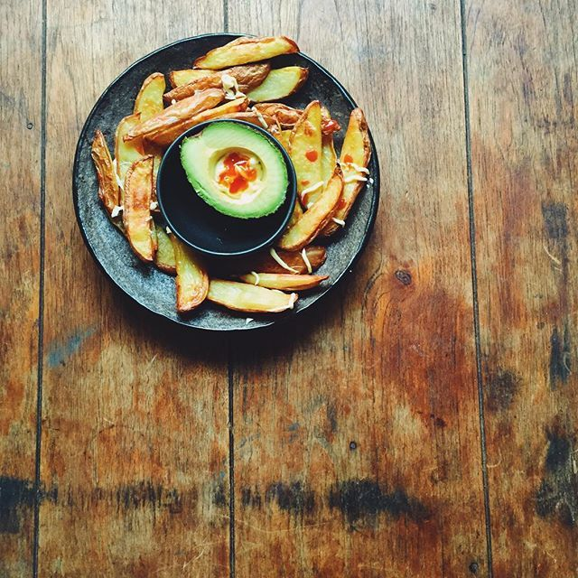 Can't go past a good chips and guac. Find more fast food recipes at movenourishbelieve.com