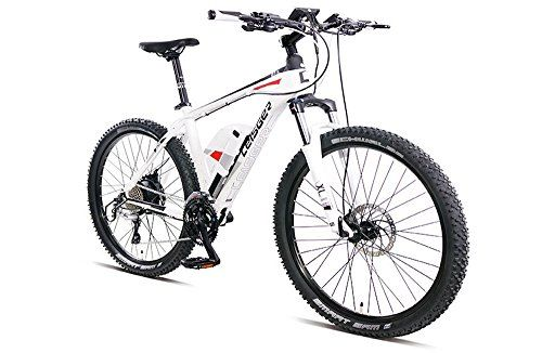 Special Offers - Magnum Leisger MD5 Pure Power Electric Bicycle  Electric Mountain Bike 350w WHITE Free Gift 16000mAh Solar Power Bank - In stock & Free Shipping. You can save more money! Check It (August 15 2016 at 08:03PM) >> http://cruiserbikeswm.net/magnum-leisger-md5-pure-power-electric-bicycle-electric-mountain-bike-350w-white-free-gift-16000mah-solar-power-bank/