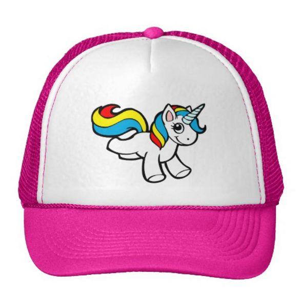 La casquette licorne