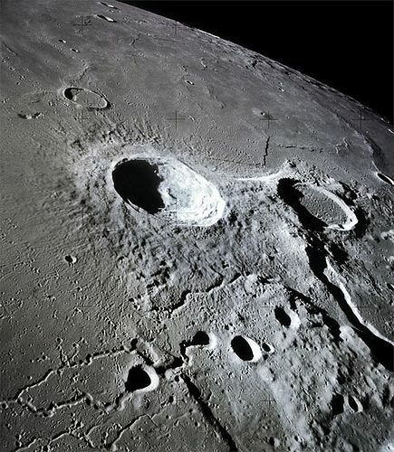 There is a crater on the moon named after Apollo due to his twin sister Artemis being a moon godess