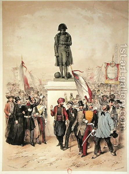 Universal Suffrage, 10th December 1848, election of Louis Napoleon Bonaparte 1808-73, 1848-49 by Frederic Sorrieu