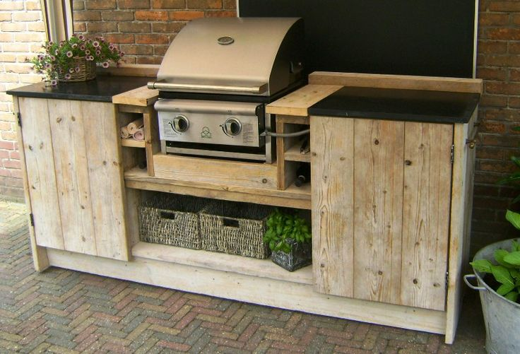 Pinterest the world s catalog of ideas for Simple outdoor kitchen designs