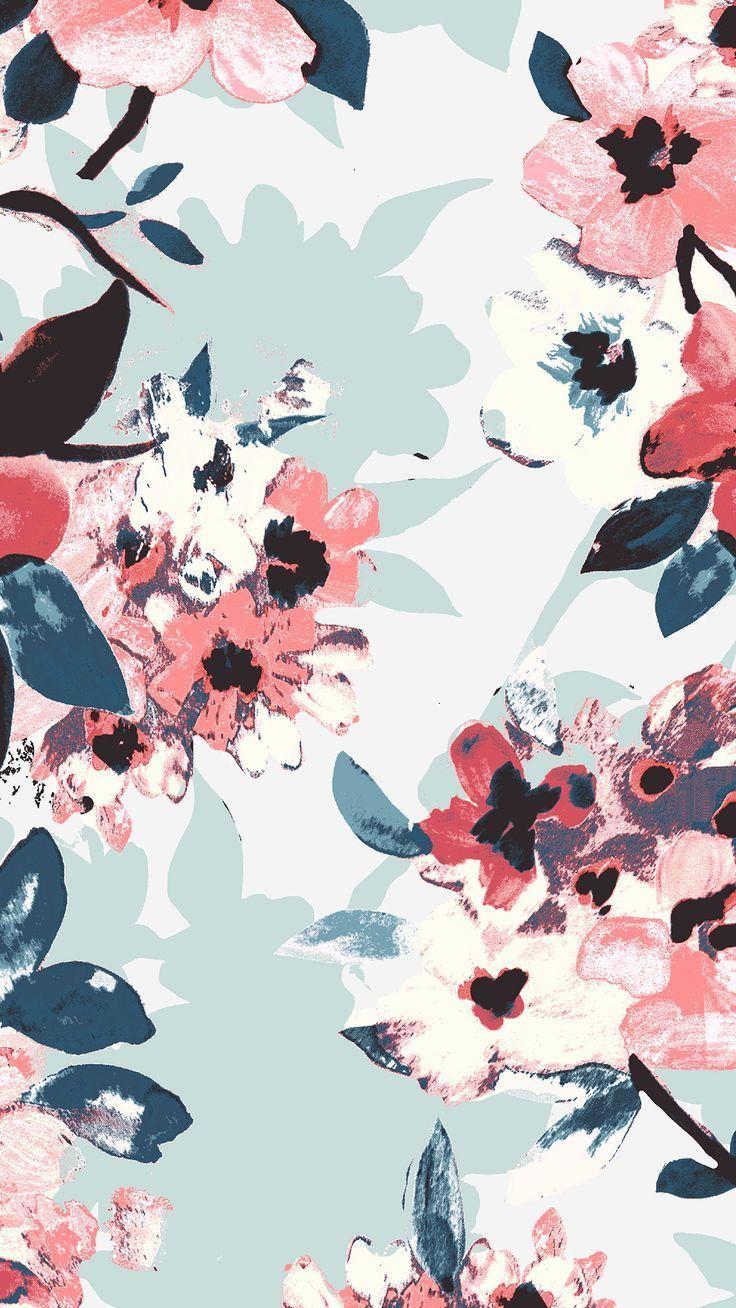 Delightful iphone 21 wallpaper tumblr – tecnologist   Floral ...
