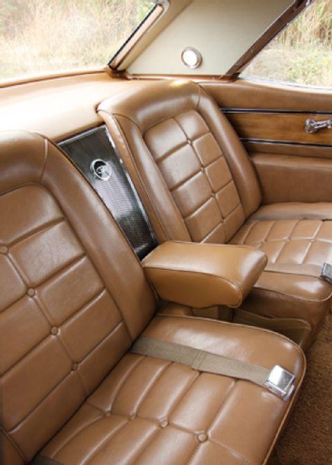 1963 1965 Buick Riviera Rear Seats Riviera 1965 Buick