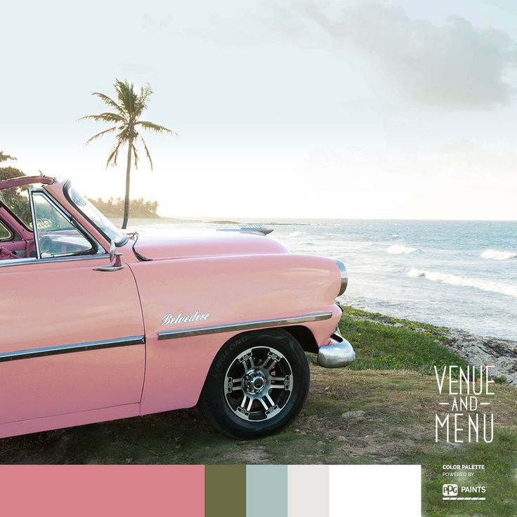 Taxi Ocean View - A classic hot pink Plymouth Belvedere rolling into the sunset, a sweet salsa rhythm lost forever to the wind, your feet up, the scenery rushing by… Finally, the impromptu romantic weekend getaway you've been dreaming of.