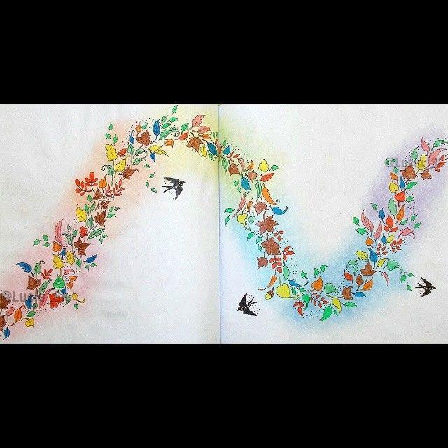 Enchanted Forest #colouringbook #coloringbook #adultcoloringbook #livrosdecolorir #arteterapia #enchantedforest #florestaencantada #zacarovanyles #carovnyles  #johannabasford #maped #colorpeps #colorindo #coloreando