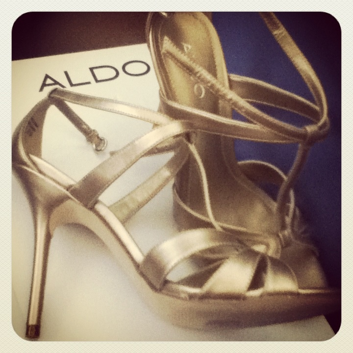 Aldo Bronze Stilettos