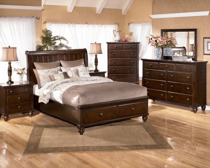 Bedroom Furniture Sets King King Bedroom Sets Belmar Black 5 Pc
