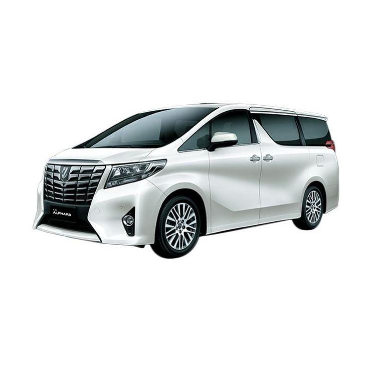 Toyota Alphard 2.5 G A/T Hybrid Mobil - White Pearl Crystal Shine Online