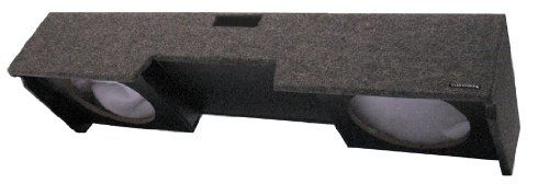 """RT/OBCON - 1997 Chevy Silverado and GM Sierra 1500 Extended Cab Dual 10"""" Speaker Box With Labyrinth Power Port"""