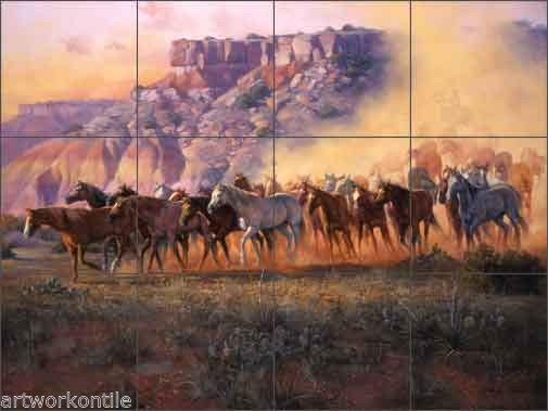 26 best images about wall murals on pinterest york for Cowboy wall mural