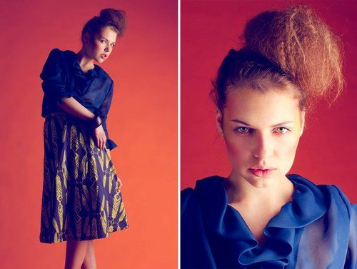 My Berlin Fashion photo shoot featuring a skirt from Ivana Helsinki S/S 2012 collection  #editorials #myberlinfashion