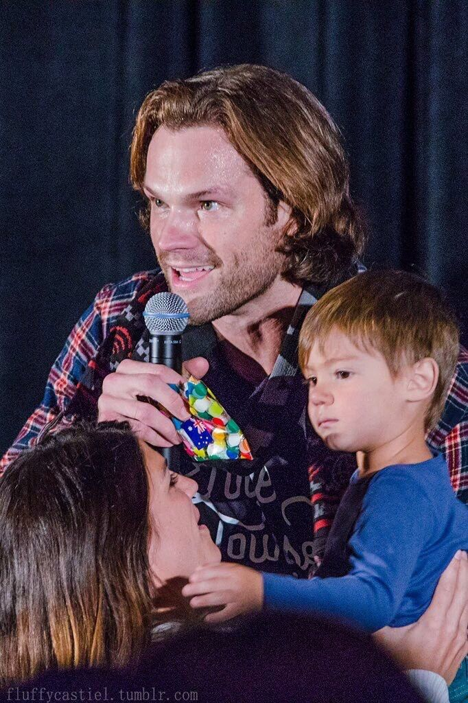 Baby Shep at #SeaCon2016 | Shepherd Padalecki | Pinterest ...