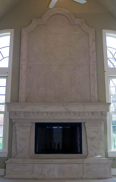 32 Best images about Cast Stone Fireplace Mantels on ...