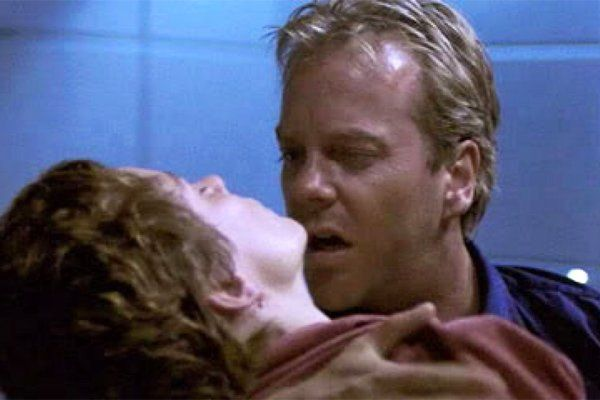 "Teri Bauer (Leslie Hope), wife of ""24"" hero Jack Bauer, was killed in the first season episode ""Day 1: 11:00pm-12:00am"" when she was shot by Counter Terrorist Unit mole and traitor Nina Myers. In the final moments of the season, Jack cradled his wife's lifeless body."