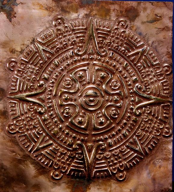 Inca Sun symbol by Julie Caldwell, via Flickr