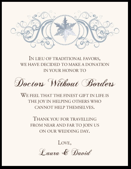 Wedding Gift Contribution Message : images about Wedding Donation Cards on Pinterest Vineyard wedding ...
