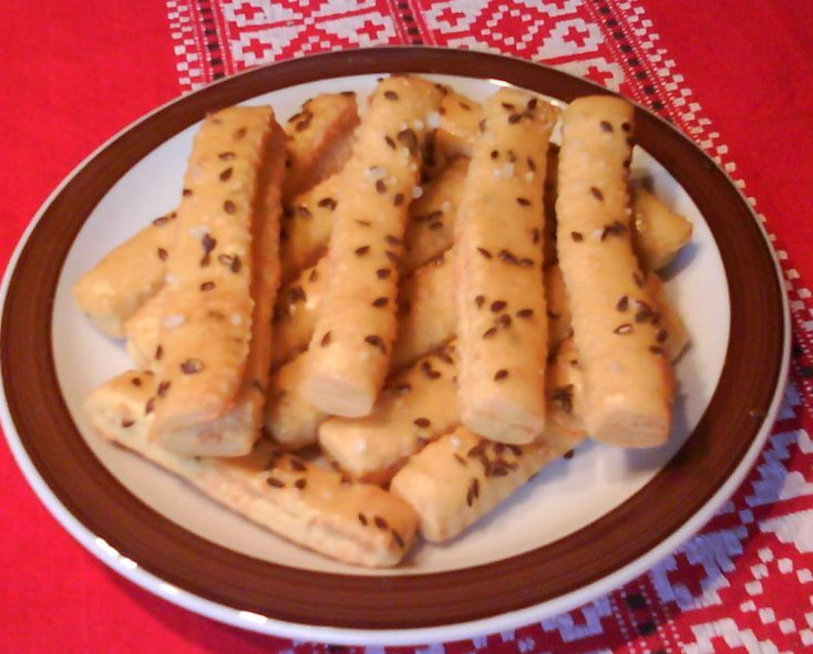 Fotorecept: Chrumkavé korenené syrové tyčinky