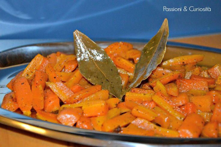 Un profumato contorno con le carote Spesso con la scusa non c'è tempo ripieghiamo su un contorno veloce come un'insalata, ma non pensi...