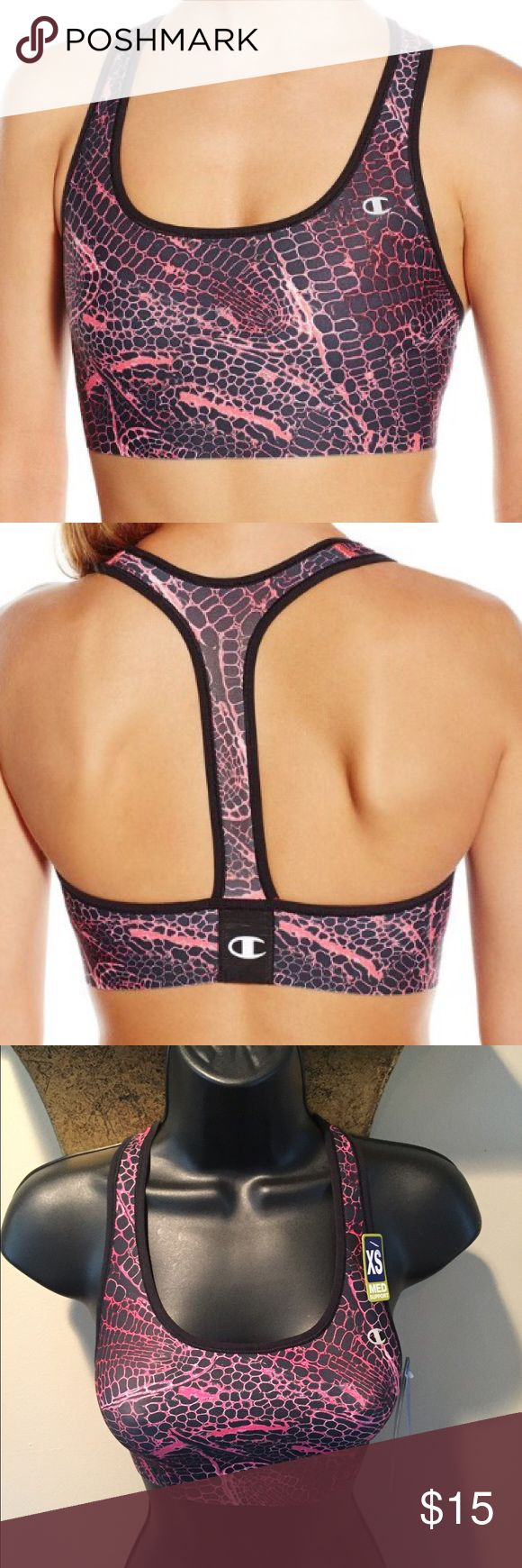 👄Sports Bra👄 Sports Bra-87% Polyester-13% Spandex-Perfect for the gym-Price Firm unless bundled for the discount‼️‼️ Champion Intimates & Sleepwear Bras