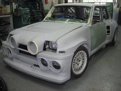 details about renault 5 maxi turbo 1 2 body kit alpine. Black Bedroom Furniture Sets. Home Design Ideas