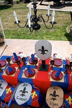 Image result for kids medieval party