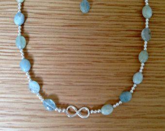 Perline in turchese perle d'acqua dolce collana di perline
