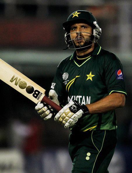 Shahid Afridi, Born Sahibzada Mohammad Shahid Khan Afridi Born On 1 March 1980 Is A Pakistani Cricketer.