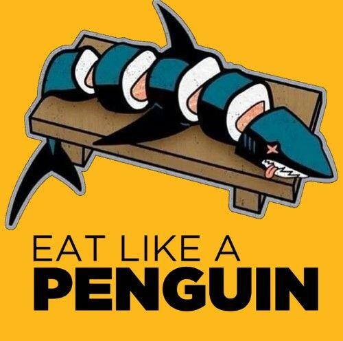 LOL, the best kind of sushi ... so violent yet so funny :'D:'D:'D