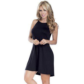 Vestido Adulto Femenino Marketing Personal 80691 Negro