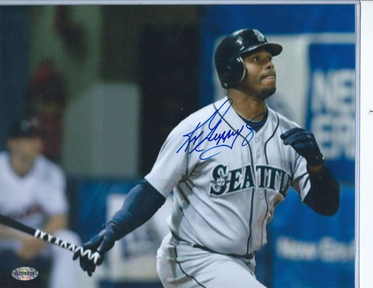 Ken Griffey Jr  signed Autographed 8x10 Photo Certified  {SHIPS FREE}