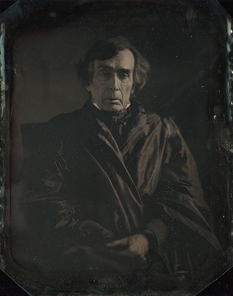 Chief Justice of the Supreme Court Roger B Taney by Mathew Brady 1849.