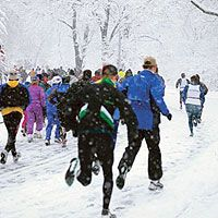 How to Stay Safe on Winter Runs:   It's hard to get excited about waking up early to go for a run in freezing cold temperatures during winter, but one of the reasons running is so fun is the connection runners have with nature. Here are some tips on how to stay safe and warm and maybe even have fun on cold winter runs.