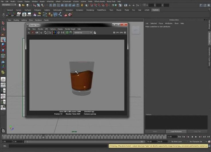 Creating Quick Fluids using NCloth in Maya, Creating Quick Fluids using NCloth…