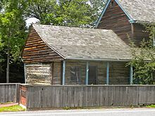 Cottage built c. 400 years ago, in 1640, near Swedesboro, New Jersey