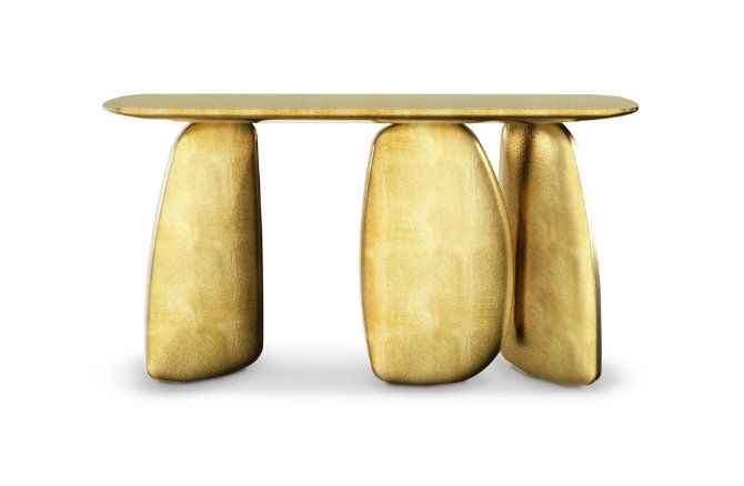 Modern console tables by Brabbu and some novelties from the brand. Find more: https://www.brabbu.com/en/casegoods/ardara-console/