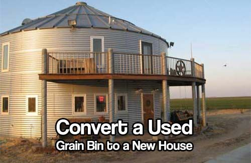 Grain House Bins as Alternative Small Housing
