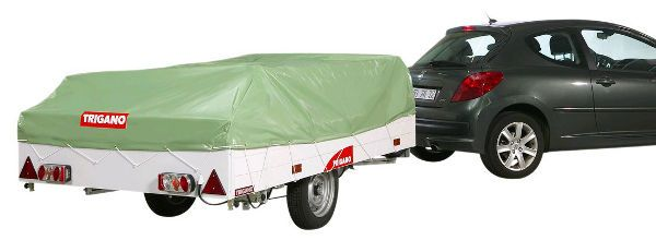 Trigano Odyssee Trailer Tent available in Green or Brown from Camperlands Trailer Tent Department