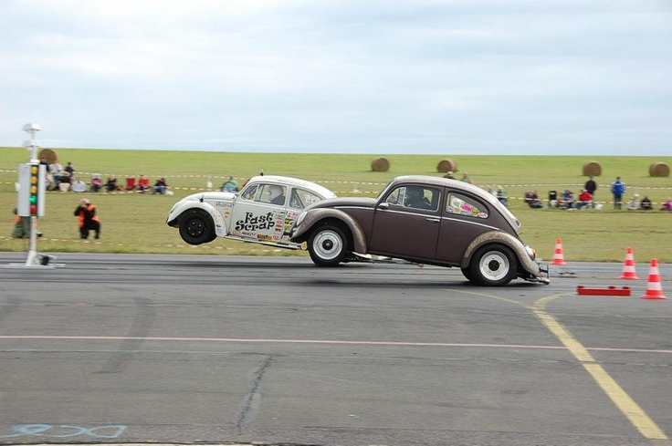 The Beetle. The original king of the standing wheel launch.