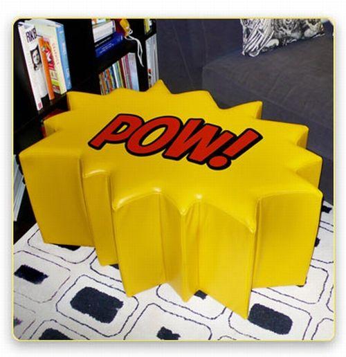 Pow! Super table from Jellio