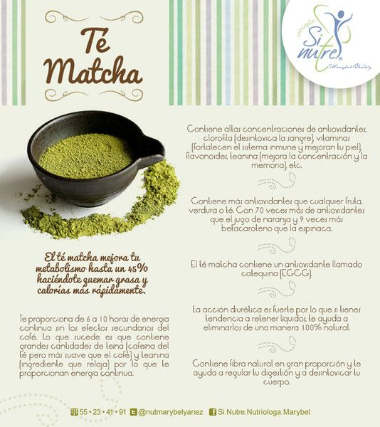 Best 25 matcha beneficios ideas on pinterest te matcha for Te verde beneficios para la salud