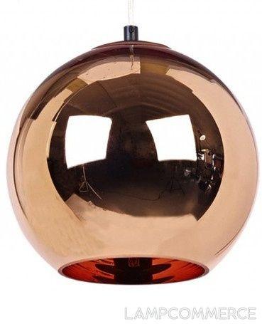 Tom Dixon Copper pendant light Lights & Lamps - LampCommerce