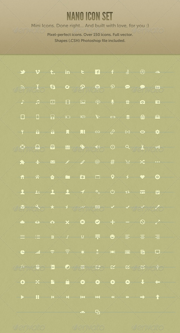 Nano Icon Set: Design Inspiration, Icons Concept, Website Icons, 03 Icons, Icon Set, Icons Sets, Nano Icons, Graphics Design, Icons Design