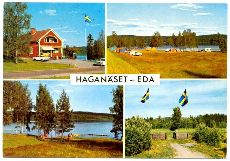 Värmland Eda kommun Haganäset Camping 1968