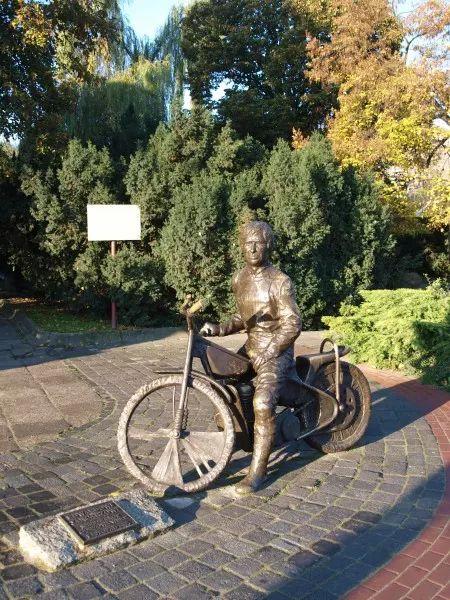Pomnik Edwarda Jancarza w Gorzowie Wielkopolskim - Gorzów Wielkopolski