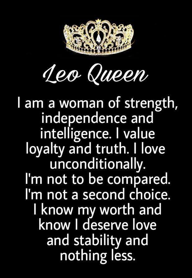 Zodiac Leo Queen