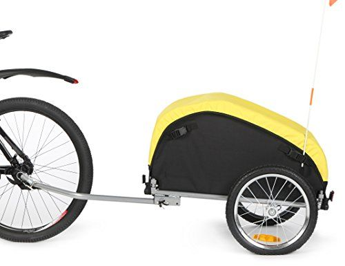 Bike Cargo Trailers - Sepnine Cargo Trailer with removeable weather cover 20217 ** Click image to review more details.