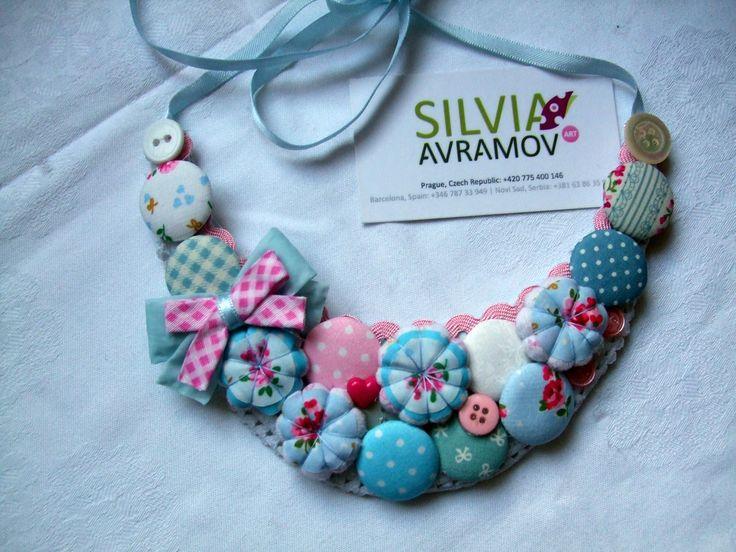 Divine handmade necklaces by SILVIJA AVRAMOV