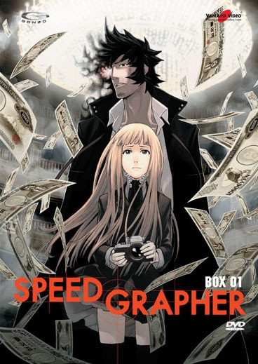"Speed Grapher    This show was really entertaining and once I started watching it, I couldn't stop. But when it was all over and I came back to reality I thought, ""....what the heck did I just watch?"""