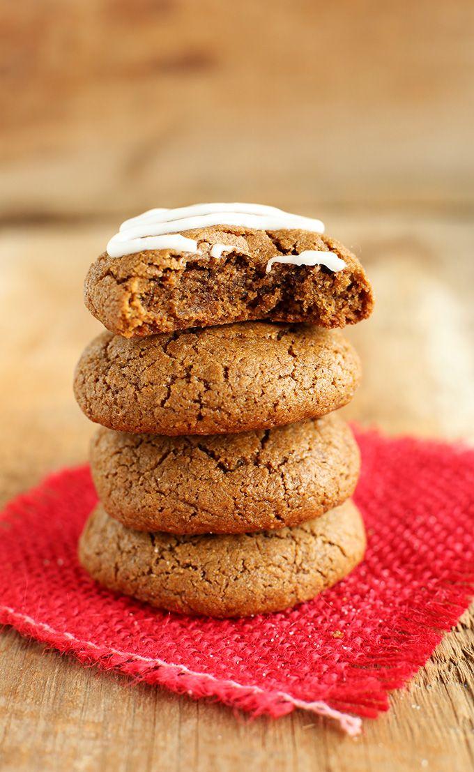Vegan Gluten Free gingerbread cookies! minimalistbaker.com recipes